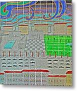 German Cityscape Metal Print
