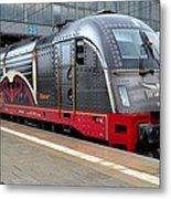German Electric Train Munich Germany Metal Print