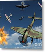 German Ju 87 Stuka Dive Bombers Metal Print