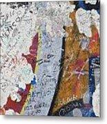 Germany, Berlin Wall Berlin Metal Print