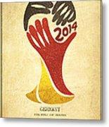 Germany World Cup Champion Metal Print