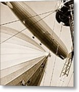 Germanys Two Mighty Airships, The Graf Metal Print