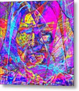 Geronimo 20130611gre-p180 Metal Print by Wingsdomain Art and Photography