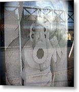 Geronimo Aiming Rifle Poster Window Tombstone Arizona 2005 Metal Print