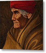 Geronimo At 77 Metal Print