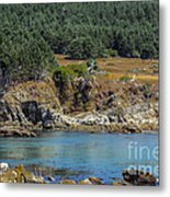 Gerstle Beach Metal Print