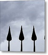 Get The Point Metal Print
