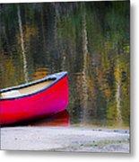 Getaway Canoe Metal Print