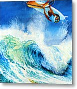 Getting Air Metal Print