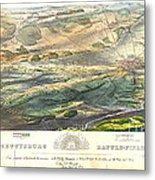 Gettysburg Battlefield 1863 Metal Print