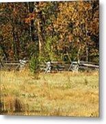 Gettysburg Battlefield October Metal Print