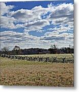 Gettysburg Battlefield - Pennsylvania Metal Print