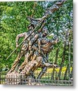 Gettysburg Battleground Memorial Metal Print