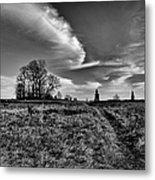 Gettysburg Sky Metal Print