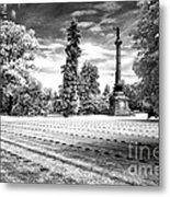 Gettysburg Soldier's Cemetery Metal Print