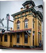 Gettysburg Train Station Metal Print