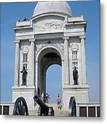 Gettysburg Union Monument Metal Print