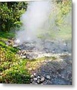 Geyser Hot Spring In Huai Nam Dang National Park In Chiang Mai Metal Print