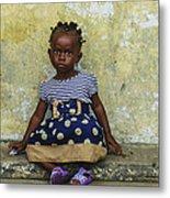 Ghanaian Child Metal Print