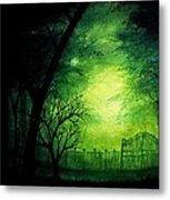 Ghastly Gate Metal Print