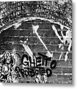 Ghetto Protected Metal Print