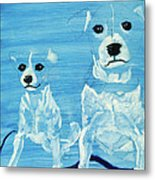 Ghost Dogs Metal Print
