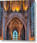 Ghost In The Cathedral Metal Print by Adrian Evans
