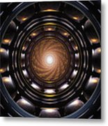 Ghost In The Machine Metal Print