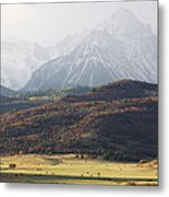 Ghost Mountains Metal Print