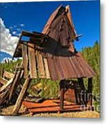 Ghost Of An A-frame Metal Print