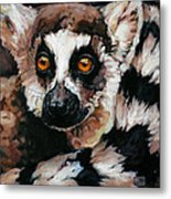 Ghost Of Madagascar Metal Print