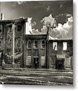 Ghost Of Our Town Metal Print by Jaki Miller