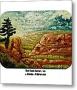 Ghost Ranch Summer Metal Print