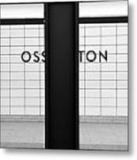 Ghost Station Metal Print