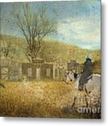 Ghost Town #1 Metal Print by Betty LaRue