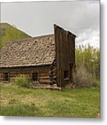 Ghost Town Ashcroft 3 Metal Print