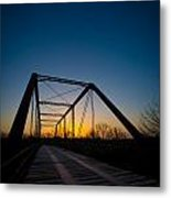 Ghost Town Bridge Metal Print