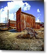 Ghost Towns In The Southwest Metal Print