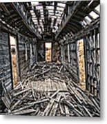 Ghost Train Revisited Metal Print