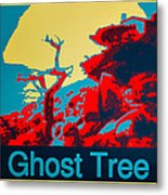 Ghost Tree Poster Metal Print