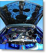 Ghost Under The Hood Metal Print