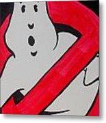 Ghostbuster Metal Print