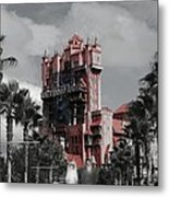 Ghostly At The Tower Metal Print