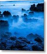 Ghostly Ocean 1 Metal Print
