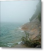 Ghostly Shore Metal Print