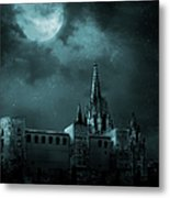 Ghosts In The Empty Town Metal Print