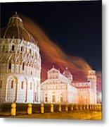 Ghosts Of Piazza Del Duomo Metal Print
