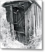 Ghosts Of The Outhouse Rocky Mountains Metal Print