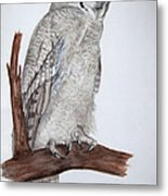 Giant Eagle Owl Metal Print