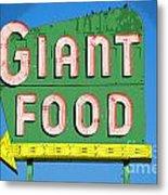 Giant Food Metal Print